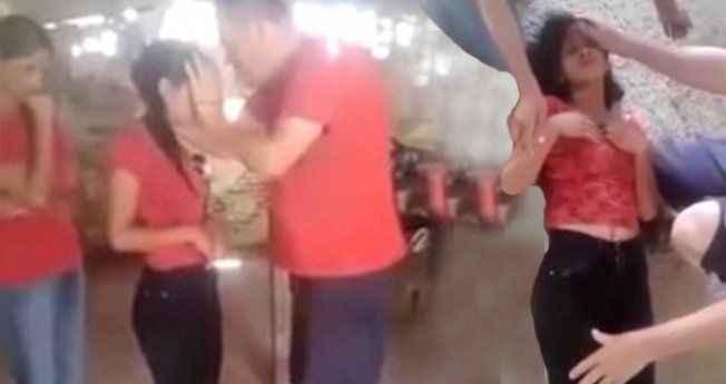 Genç kıza cin çıkartma ayini gerçekleştirdi, görenlerin nefesi kesildi