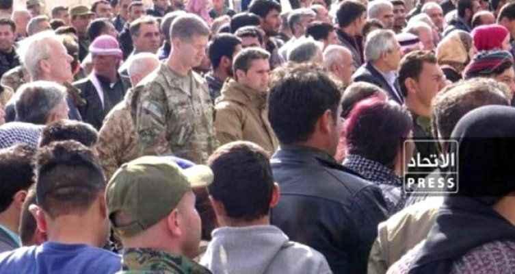 Kirli ortaklık tescillendi! ABD askerleri, terörist cenazesinde
