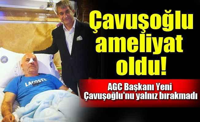 Alanyaspor Kulübü Başkanı Hasan Çavuşoğlu ameliyat oldu