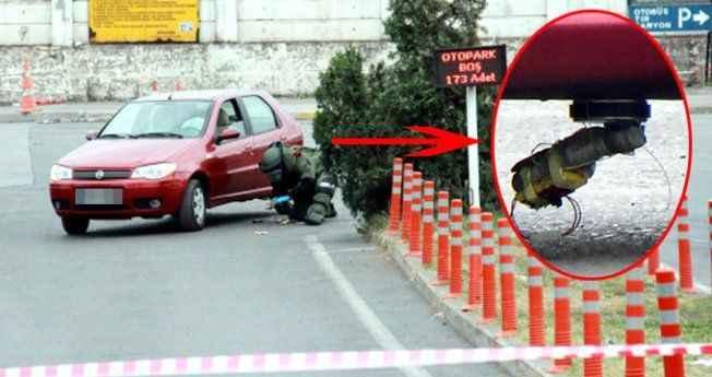 Karısının arabasına bomba koyan adam: Çok kişinin canını alırım!