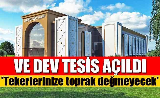 Demirtaş Kültür Merkezi  törenle açıldı