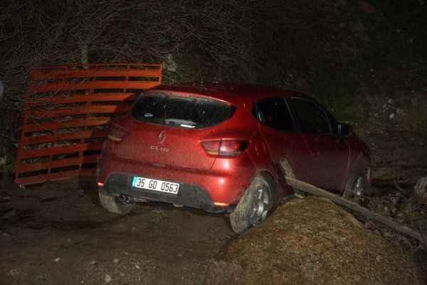 Aydın'da polis ekipleri kaçan zanlılarla çatıştı