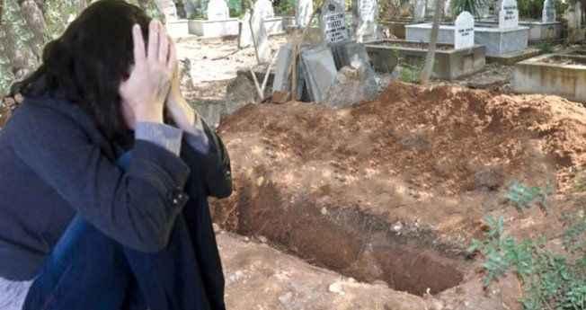 15 yaşındaki arkadaşını boş mezar çukurunda taciz etti!