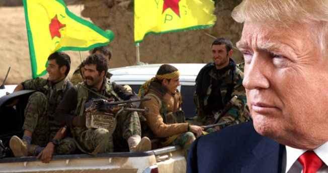 Trump'tan YPG'ye 200 milyon dolarlık soğuk duş!