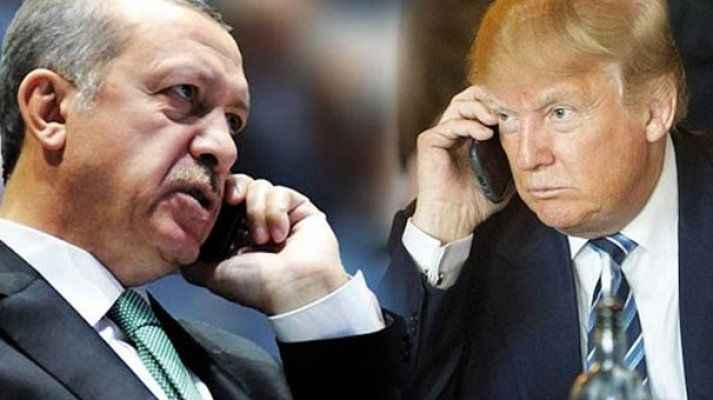 Erdoğan ile Trump arasında çok kritik görüşme