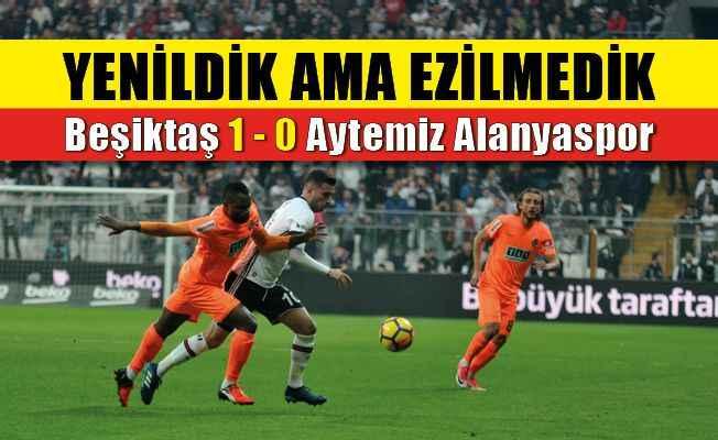 Beşiktaş-Alanyaspor karşılaşması