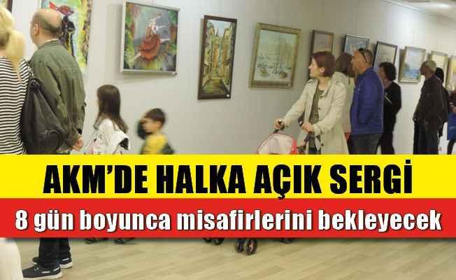 Alanya'da URD'nin sergisi AKM'de açıldı