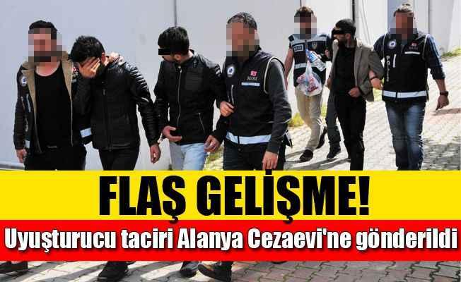 Alanya'da yakalanan 4 uyuşturucu tacirinden 1'i  tutuklandı