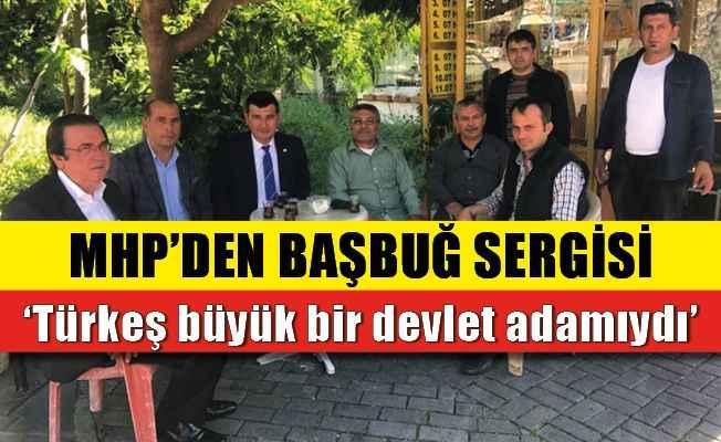 MHP'den Alanya'da Türkeş sergisi