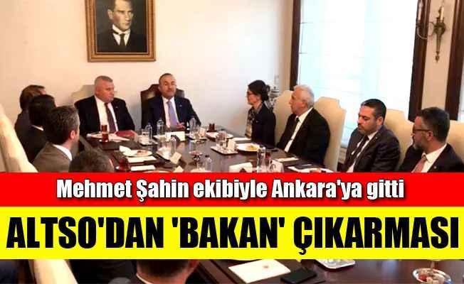 Mehmet Şahin ekibiyle Ankara'ya gitti