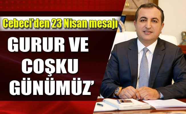 Kazakistan Alanya Fahri Konsu Cebeci'den 23 Nisan mesajı