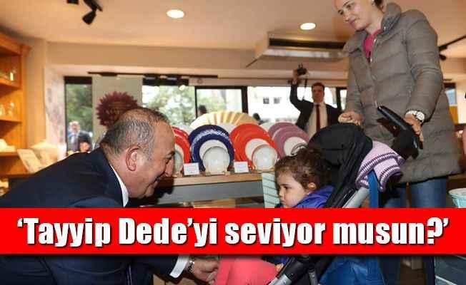 Bakan Çavuşoğlu'ndan Başkent'te esnaf ziyareti