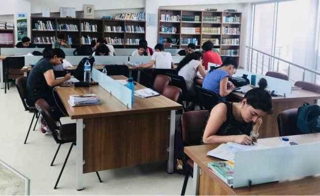 Kütüphaneden sınav hizmeti