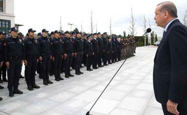 Erdoğan'dan polislere müjde