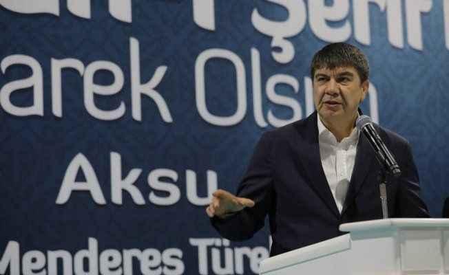 Türel Aksu'da halkla buluştu