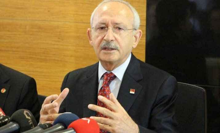 Kılıçdaroğlu: Suriyelilerin ülkelerine dönmeleri lazım