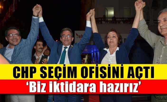 Alanya'da CHP seçim ofisini açtı