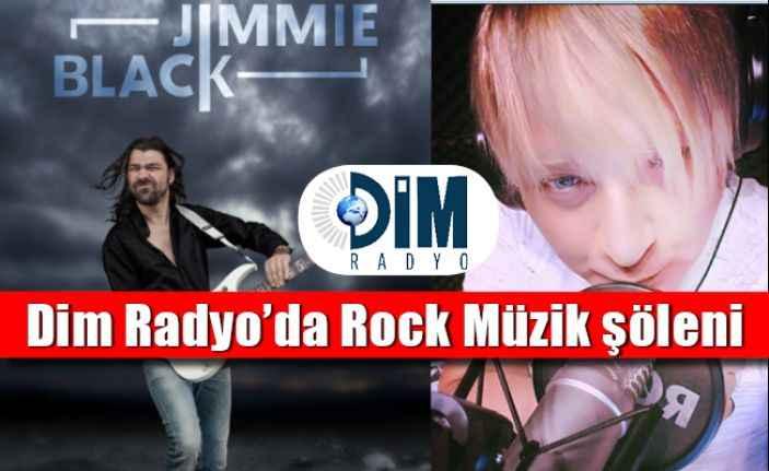 Dim Radyo'da Cüneyt Tayboğa ile Rock Müzik şöleni