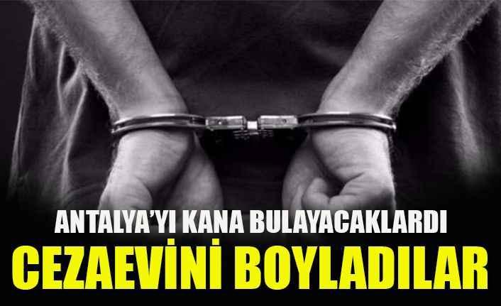 Antalya'da, bombacılara hapis cezası