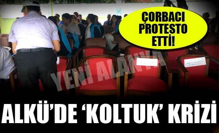 ALKÜ'de 'koltuk' krizi