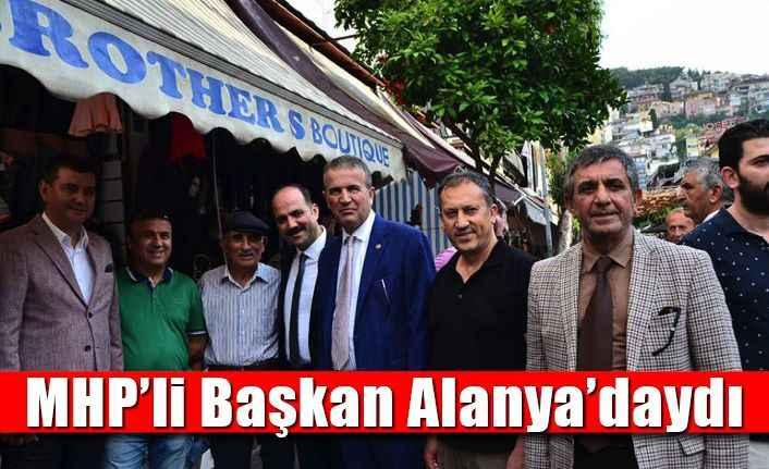 MHP'li Başkan Alanya'daydı