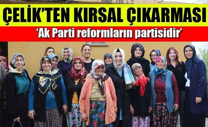 Çelik: 'Ak Parti reformların partisidir'