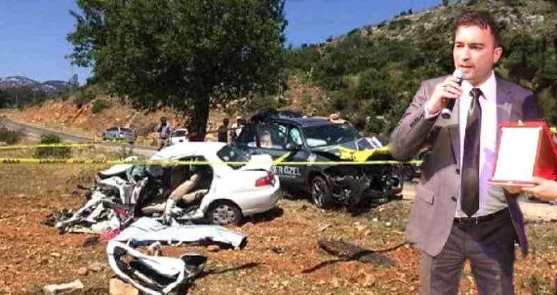 İYİ Parti adayının bulunduğu araç kaza yaptı: 1 ölü, 3 yaralı