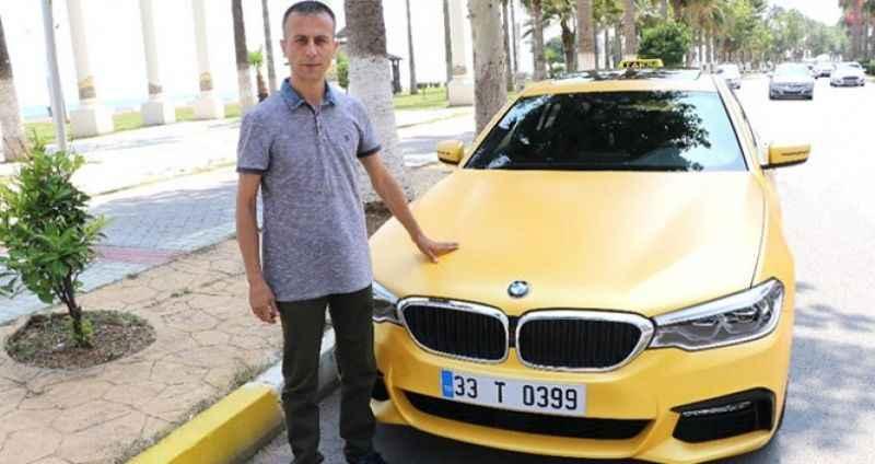 Türkiye'ye sadece 20 tane geldi! 500 bin TL'ye alıp taksi yaptı