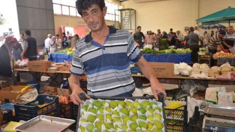 Sezonun ilk incirlerinin kilosu 10 lira