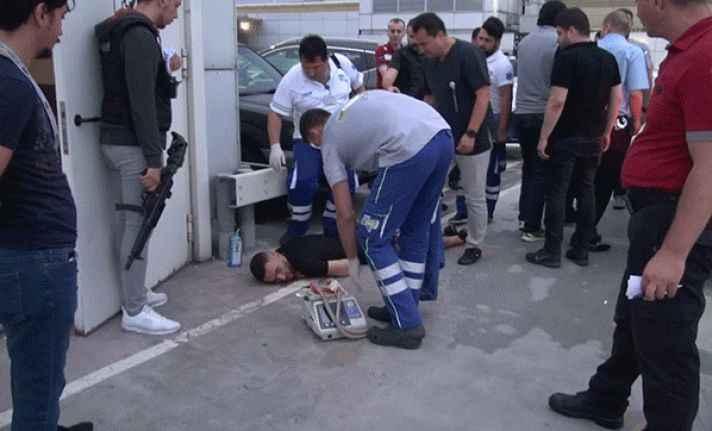 Havalimanında alkol komasına girdi