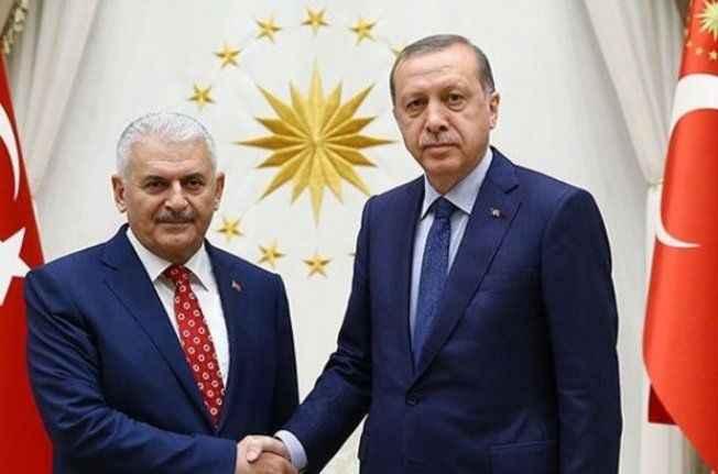 Erdoğan-Yıldırım zirvesi sona erdi