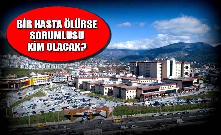 Alanya EA Hastanesi'nde 'Solunum' krizi