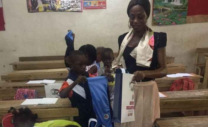 Kepez'den Afrikalı Çocuklara Forma