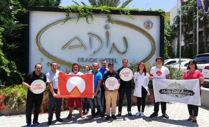 Adin Beach Hotel Uluslararası Turuncu Bayrak Sertifikası aldı