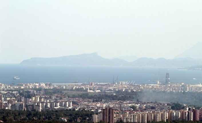 Antalya'da yüksek nem