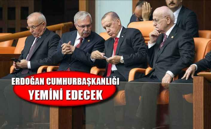 Cumhurbaşkanı Erdoğan bugün yemin edecek