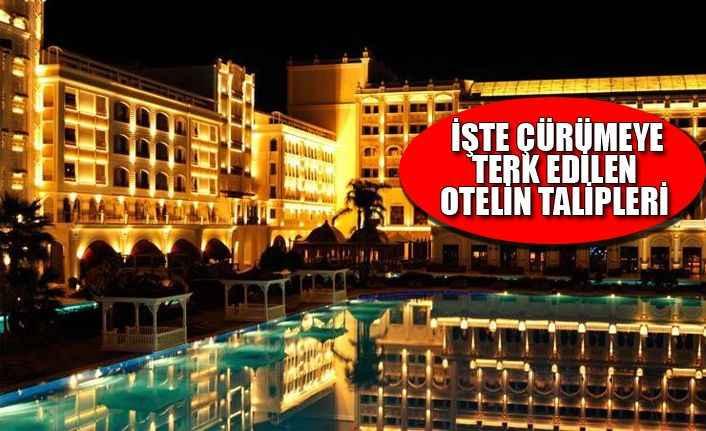 Antalya'daki ünlü otele iki turizm şirketi talip