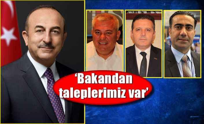 Bakan Çavuşoğlu'na ilk günden talep yağdı