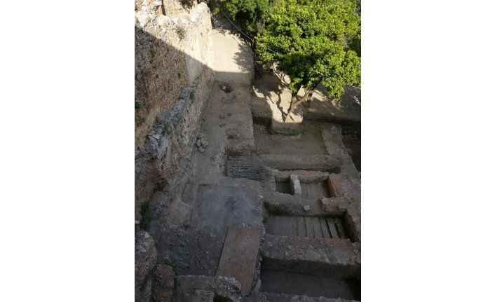 Hamam önü kazısı