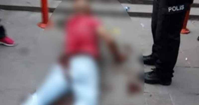 Kızını taciz eden adamı, sokak ortasında hadım etti