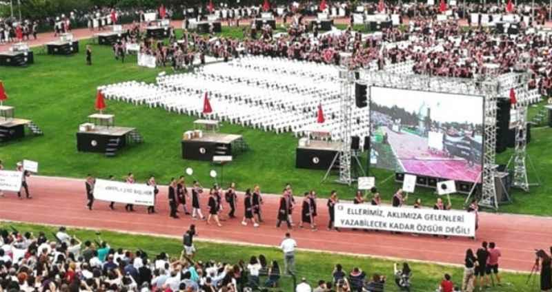 ODTÜ'de skandal Erdoğan pankartı açan 4 öğrenci hakkında karar verildi