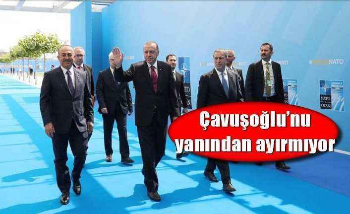 Bakan Çavuşoğlu NATO zirvesine katıldı