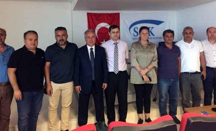 ASGM ve ALSMO yetkilileri üyelerle bir araya geldi