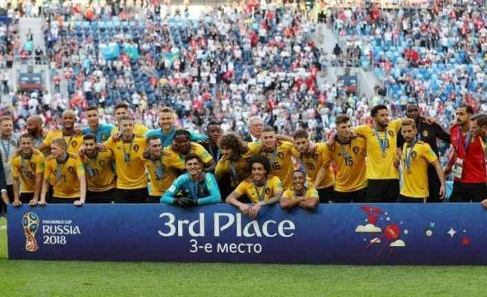 Dünya Kupası'nda Belçika tarih yazdı