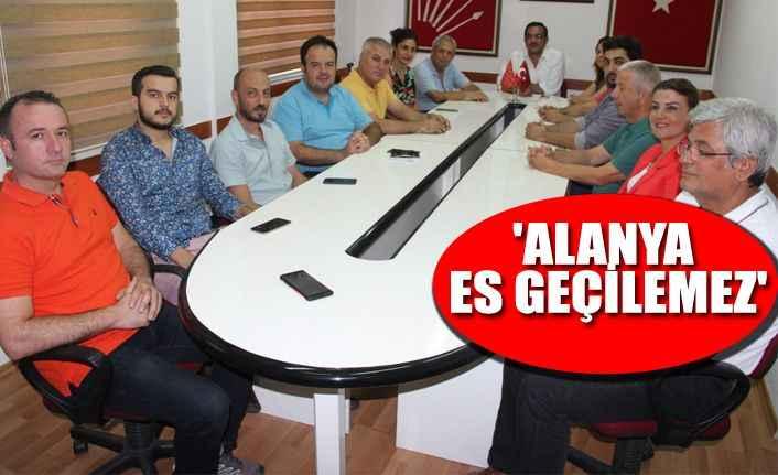 Alanya CHP'den 'Tur' tepkisi