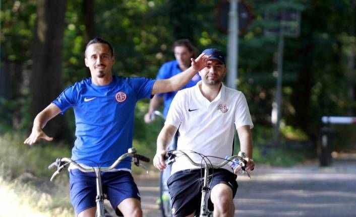Antalyaspor'da sıkı çalışma