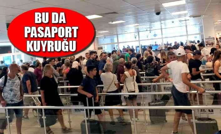 GZP'de pasaport çilesi