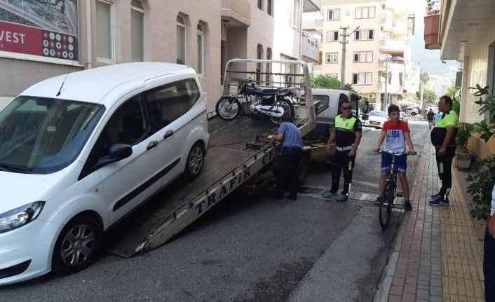 Alanya'da işgalci sürücülere af yok