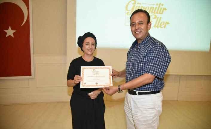 Alanya Belediyesi sertifikalandırdı