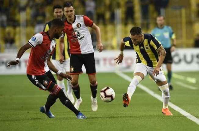 Fenerbahçe Feyenoord maç sonucu: 3-3